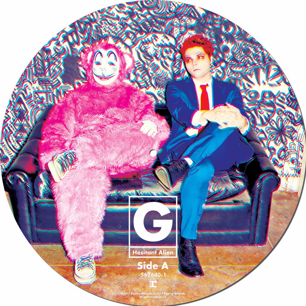 Gerard Way Gerard Way - Hesitant Alien (picture Disc) цена
