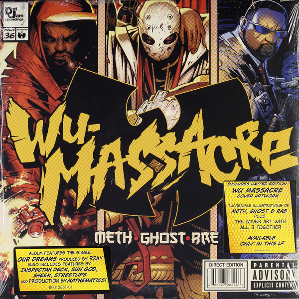 Meth, Ghost And Rae - Wu Massacre