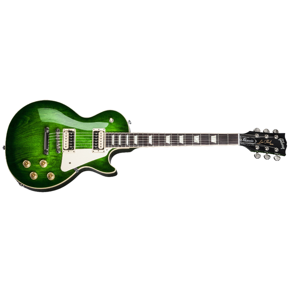 Электрогитара Gibson Les Paul Classic T 2017 Green Ocean Burst gibson les paul studio hp 2017 wine red