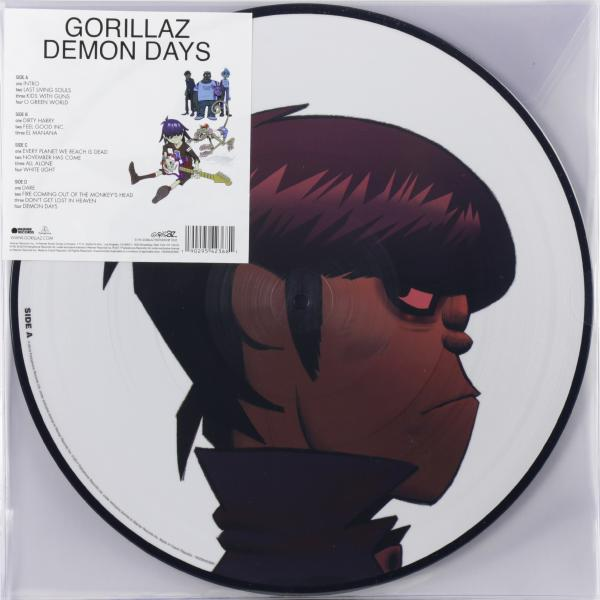 Gorillaz Gorillaz - Demon Days (2 Lp, Picture) gorillaz gorillaz humanz 2 lp picture disc