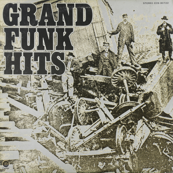 Grand Funk Railroad Grand Funk RailroadGrand Funk - Grand Funk Hits (japan Original. 1st Press) (винтаж)