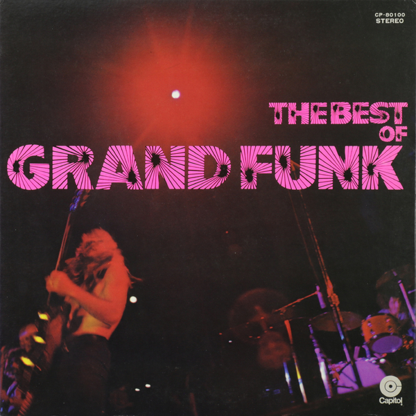Картинка для Grand Funk Railroad Grand Funk Railroad - The Best Of Grand Funk (japan Original. 1st Press. Red Vinyl) (винтаж)