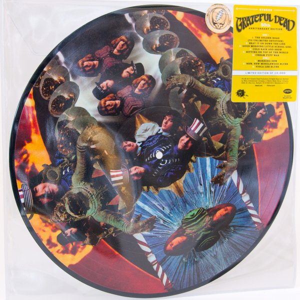 Grateful Dead Grateful Dead - The Grateful Dead (50th Anniversary) (picture Disc) grateful dead grateful dead shrine exposition hall los angeles ca 11 10 1967 3 lp