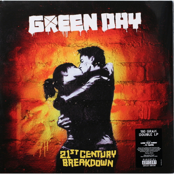 Green Day Green Day - 21st Century Breakdown (2 LP) футболка wearcraft premium printio green day 21st century breakdown