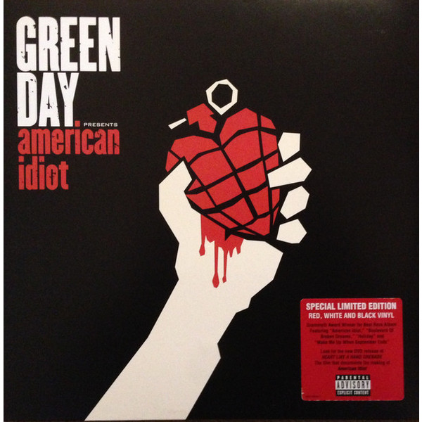 Green Day Green Day - American Idiot (2 Lp, Colour) racmmer cycling gloves guantes ciclismo non slip breathable mens