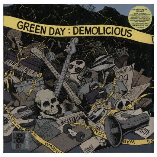 Green Day Green Day - Demolicious (2 LP) my 1st st patrick day clover white top green bling sequins girls skirt set 1 8y