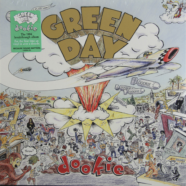 Green Day Green Day - Dookie green day green day dookie picture disc