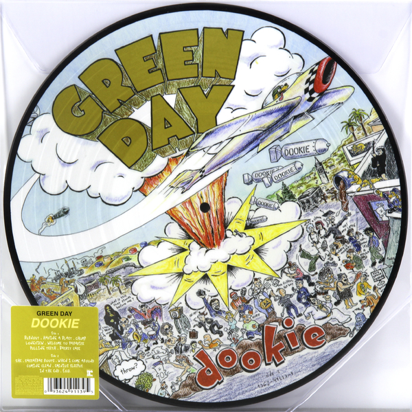 Green Day Green Day - Dookie (picture Disc) green day green day dookie picture disc
