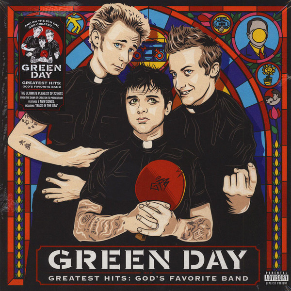 Green Day Green Day - Greatest Hits: God's Favorite Band (2 LP) green day green day on the radio 2 lp
