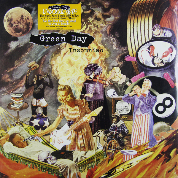 Green Day Green Day - Insomniac my 1st st patrick day clover white top green bling sequins girls skirt set 1 8y