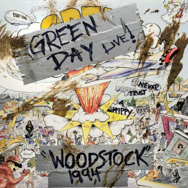 Green Day Green Day - Woodstock 1994 green day revolution radio lp