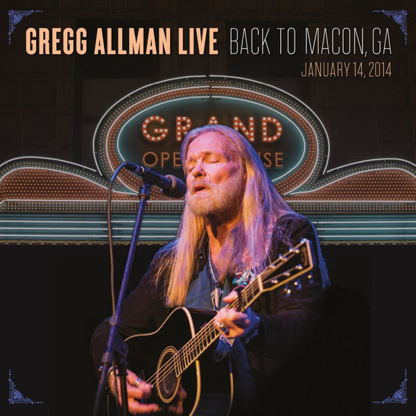 Gregg Allman Gregg Allman - Live: Back To Macon, Ga (2 LP) yaya cg07jn 002 3d printer 1 75mm abs filament black 50g 20 meters