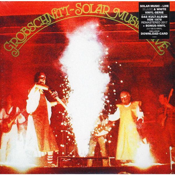Grobschnitt Grobschnitt - Solar Music - Live (2 LP) anthrax anthrax worship music 2 lp