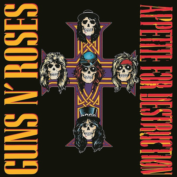 Guns N' Roses Guns N' Roses - Appetite For Destruction (2 LP) beibehang relief roses wallpaper for living room bedroom mural wall paper roll desktop tv background 3d wallpaper for walls 3 d