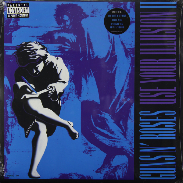 Guns N' Roses Guns N' Roses - Use Your Illusion 2 (2 LP) футболка стрэйч printio guns n roses