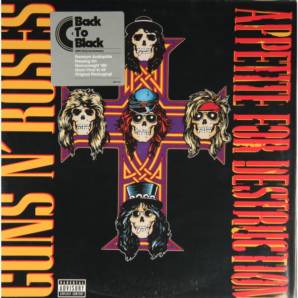 Guns N' Roses Guns N' Roses - Appetite For Destruction (180 Gr) guns n roses ганновер