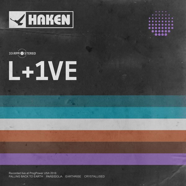 HAKEN HAKEN - L+1ve (lp+cd) lp воздухопроницаемый серебрый l