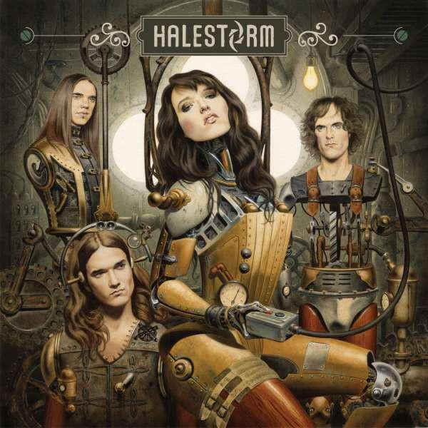 Halestorm Halestorm - Halestorm cd halestorm into the wild life