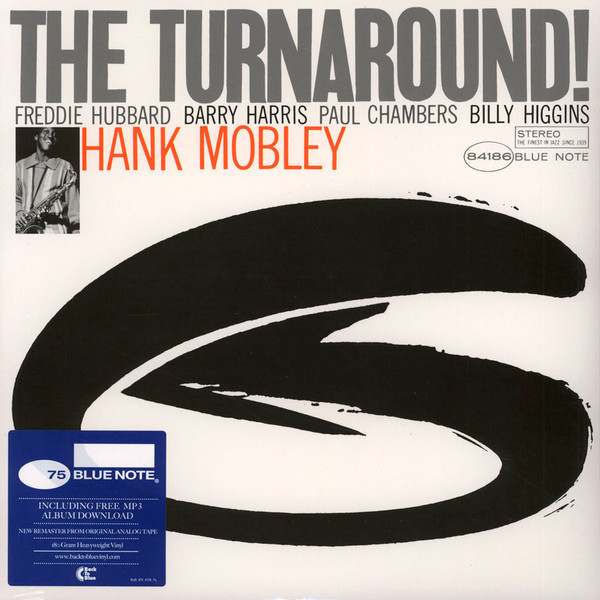 Hank Mobley Hank Mobley - The Turnaround hank mobley no room for squares lp