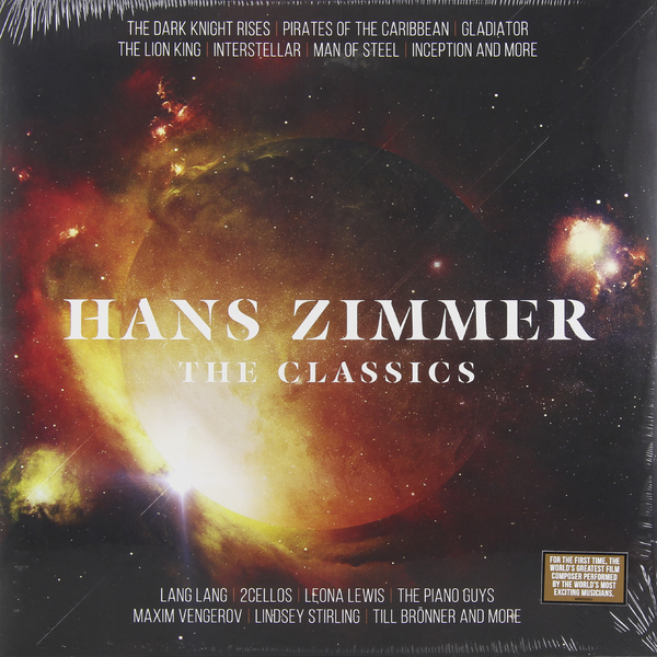 Hans Zimmer Hans Zimmer - The Classics (2 LP) 2016 new shoes for children breathable children boy shoes casual running kids sneakers mesh boys sport shoes kids sneakers