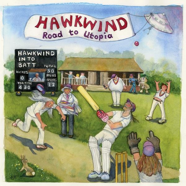 Hawkwind Hawkwind - Road To Utopia the long utopia