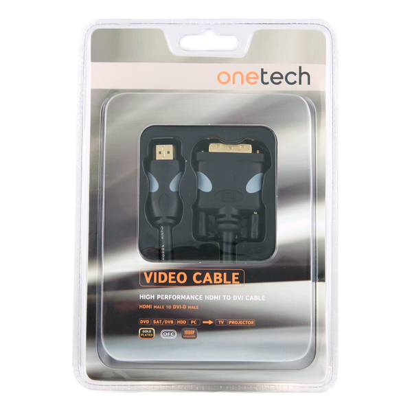 Кабель HDMI-DVI Onetech