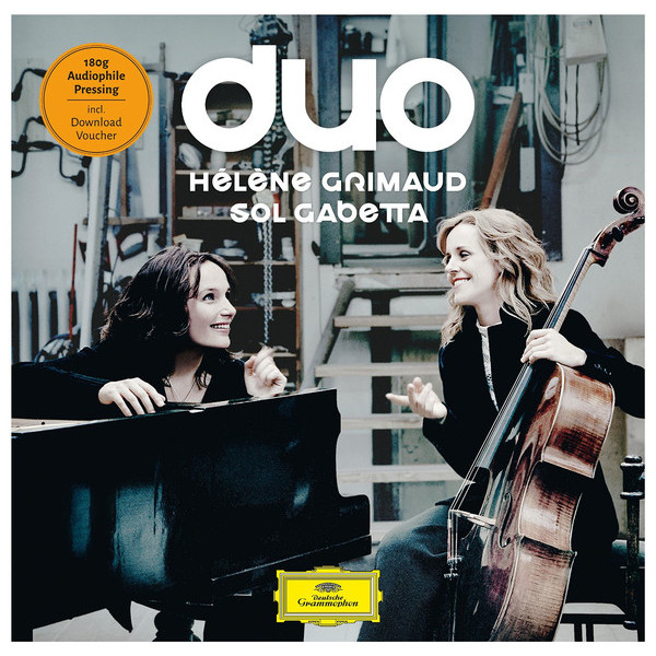 Helene Grimaud   Sol Gabetta Helene Grimaud   Sol Gabetta - Duo (2 LP) sol wonder 2