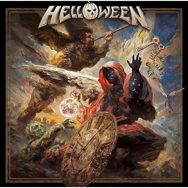 Helloween Helloween - Helloween (limited, Colour Marbled, 2 LP) helloween helloween dark ride 2 lp