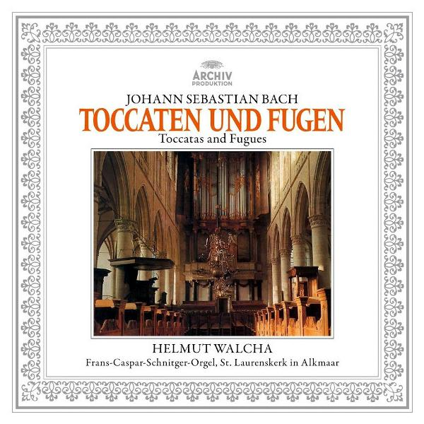 BACH BACHHelmut Walcha - Johann Sebastian : Toccatas And Fugues недорого