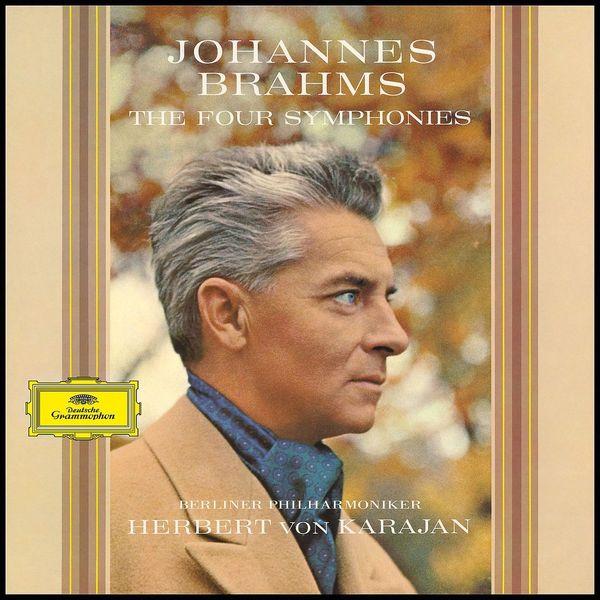 Brahms BrahmsHerbert Von Karajan - : Four Symphonies (4 LP) bruckner herbert von karajan symphonies 8