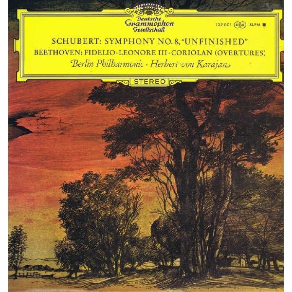 Herbert Von Karajan - Schubert: Symphony No.8; Beethoven: Overtures