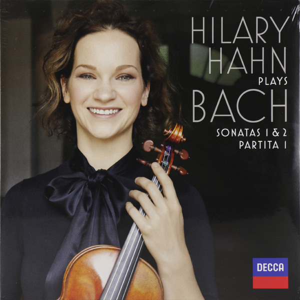 BACH BACHHilary Hahn - : Violin Sonatas Nos. 1 2; Partita No. 1 (2 LP) bach bachyo yo ma chris thile edgar meyer trios 2 lp