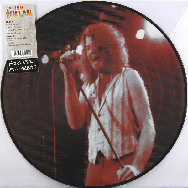 Ian Gillan Ian Gillan - Access All Areas иэн гиллан ian gillan one eye to morocco limited edition