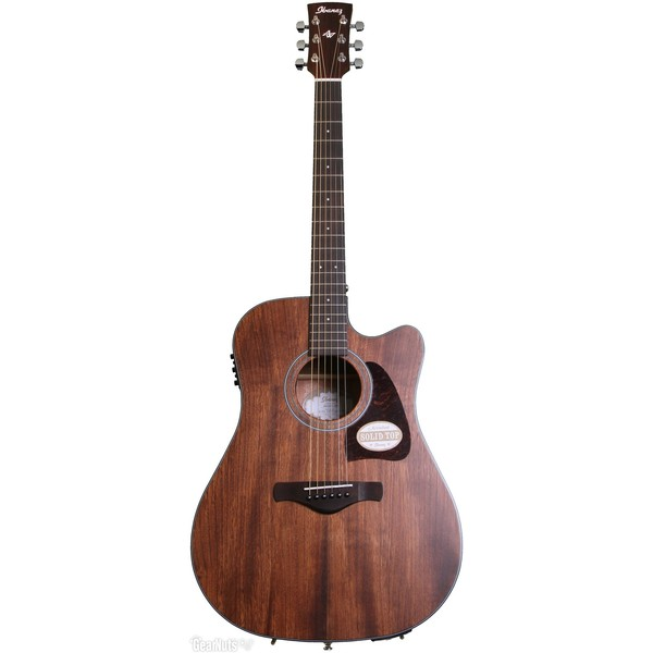 Гитара электроакустическая Ibanez AW54CE-OPN электроакустическая гитара ibanez aw65ece lg