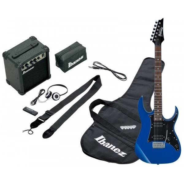 Электрогитара Ibanez Гитарный комплект IJRG200U BLUE NEW JUMPSTART ibanez gio gsa60 bs