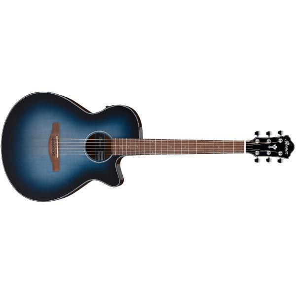 Гитара электроакустическая Ibanez CONFIDENTIAL AEG50 Indigo Blue Burst