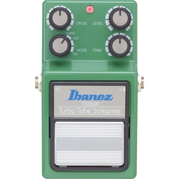 Педаль эффектов Ibanez TS9DX Turbo Tube Screamer