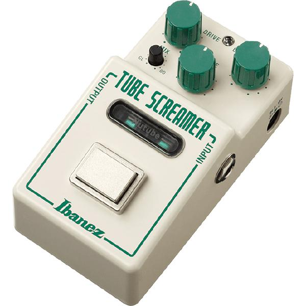Педаль эффектов Ibanez Tube Screamer NTS NU педаль эффектов ibanez tube screamer ts9
