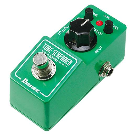 Педаль эффектов Ibanez Tube Screamer TS MINI ibanez aeg10nii nt