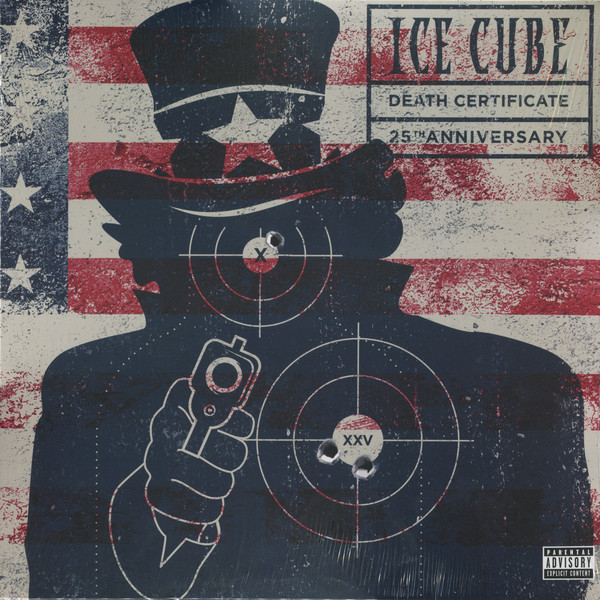 Ice Cube Ice Cube - Death Certificate (2 LP) silicone smile face style 7 cube ice cubes trays maker diy mould yellow