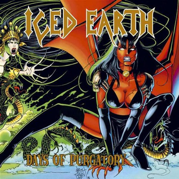 Iced Earth Iced Earth - Days Of Purgatory (3 LP)
