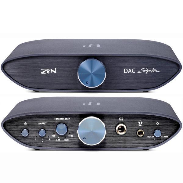 zen alien Внешний ЦАП iFi audio ZEN DAC Signature Black + ZEN CAN Signature 6XX Black (ZEN Signature Bundle)