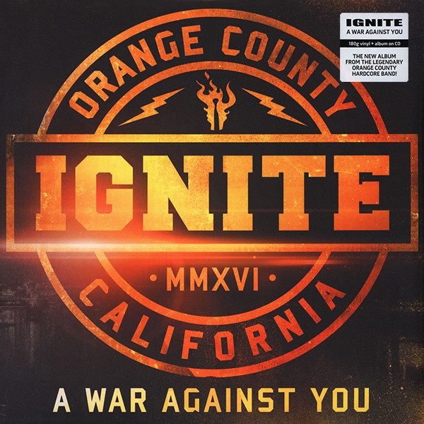 Ignite Ignite - A War Against You (lp + Cd) stephen westerholm the blackwell companion to paul