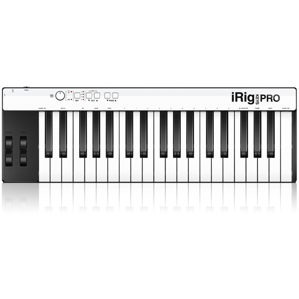 MIDI-клавиатура IK Multimedia iRig Keys PRO клавиатура dell kb522 wired business multimedia keyboard black usb 580 17683