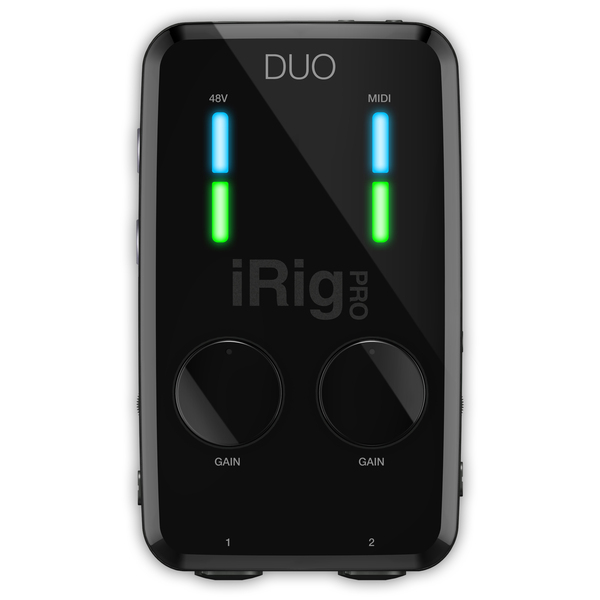 Мобильный аудиоинтерфейс IK Multimedia iRig Pro DUO аудиоинтерфейс ik multimedia irig pro i o