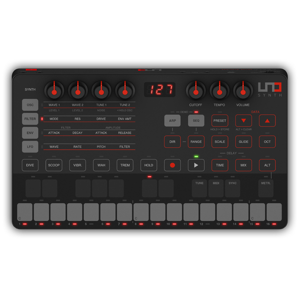 Синтезатор IK Multimedia UNO Synth synth