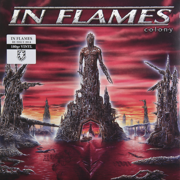 In Flames In Flames - Colony (180 Gr) the jamestown colony