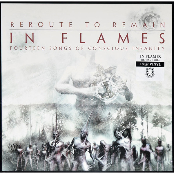 In Flames In Flames - Reroute To Remain turbulent vortex flames