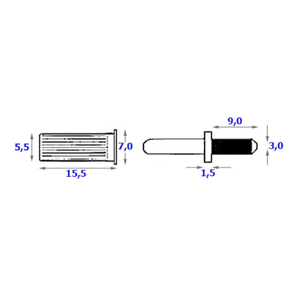 Крепёж для акустического гриля Intertechnik от Audiomania