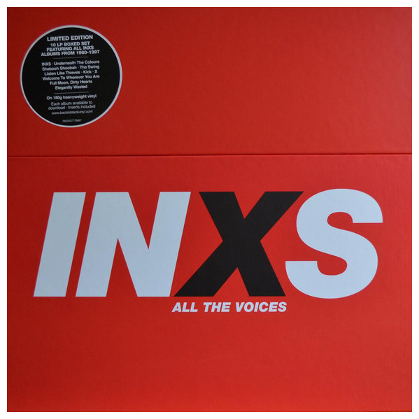 INXS INXS - Album Collection (10 LP)